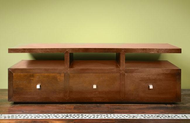 meubles tv en teck Kayumanis