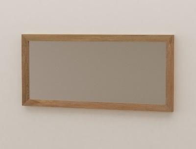 miroir en teck pour salle de bain