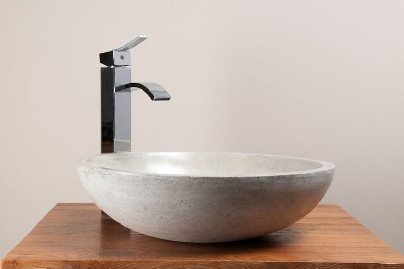 vasque béton ciré Kayumanis ronde