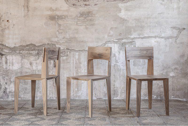 Chaises en teck rustiques au design sobre - PYRA - Kayumanis