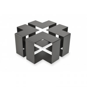 table basse en acier design et pratique - JIGSAW de Kayumanis