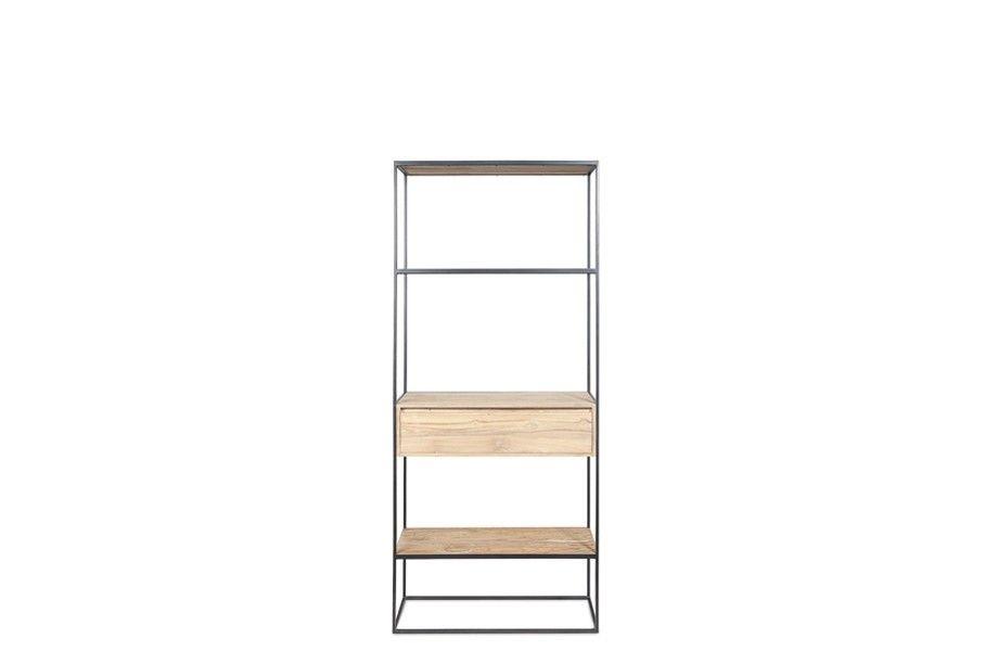 Grande étagère en teck massif - totem drawers - Kayumanis