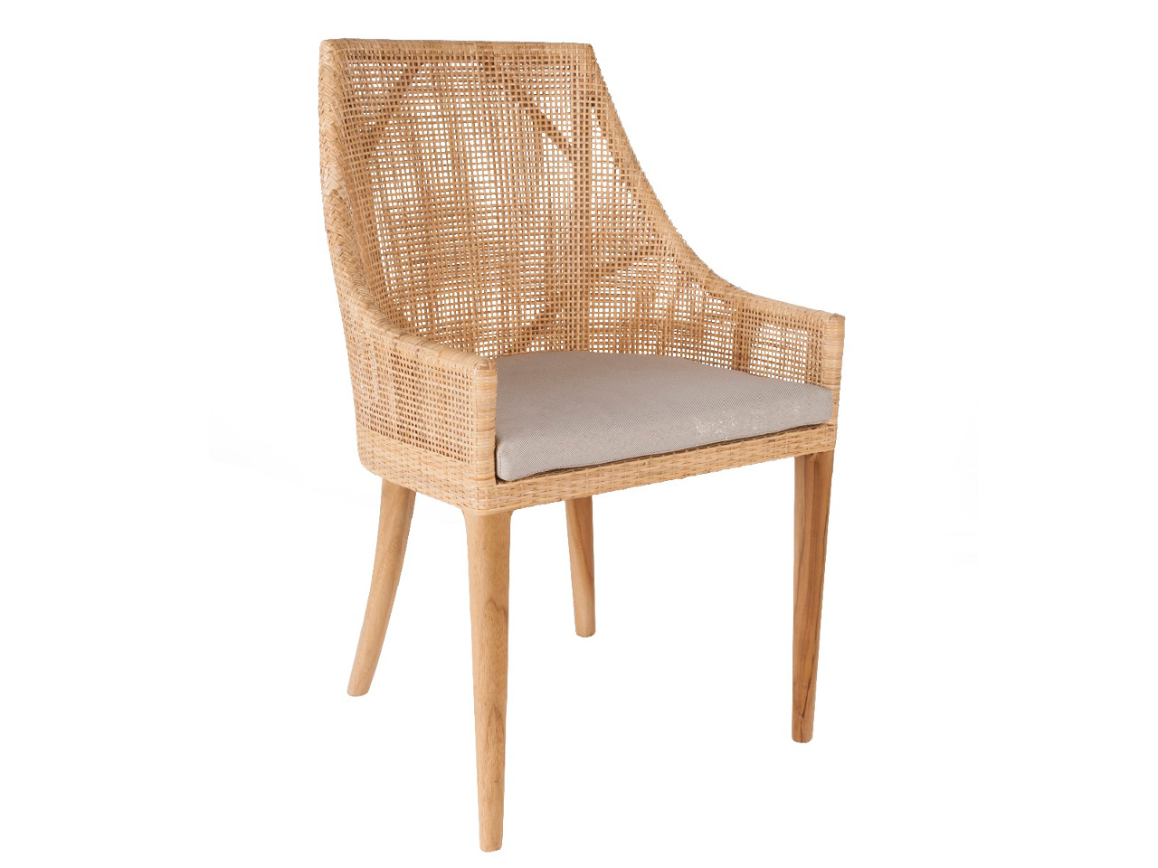 Chaise bohème et naturelle - SAIGON - Kayumanis