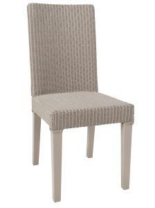 Chaise en teck massif et rotin confortable - LLOYD - Kayumanis