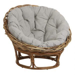 Chaise en rotin confortable - LOVEUSE - Kayumanis